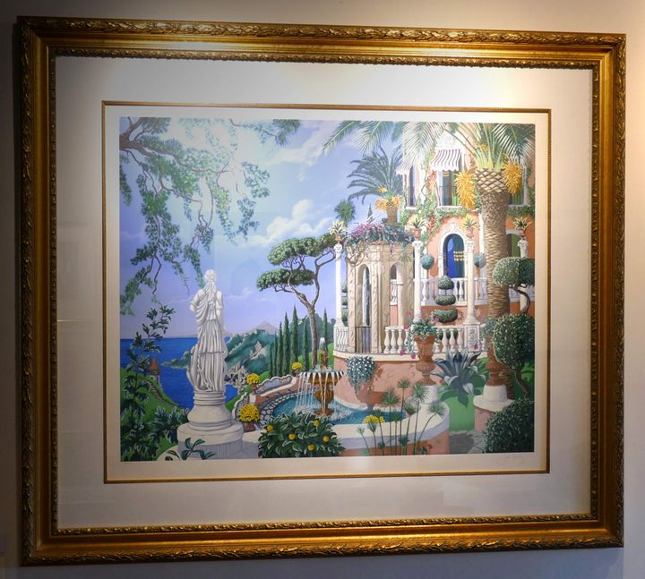 View of Sorrento - John Kiraly - Frame of Mind