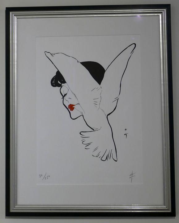 Untitled - Rene Gruau - Local Pickup - Frame of Mind
