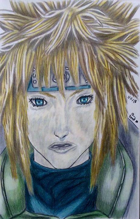 Drawing of Minato - Art of Dean Murphy