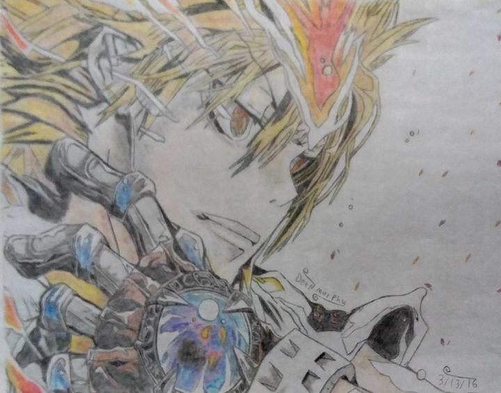 Drawing of Tsuna - Art of Dean Murphy