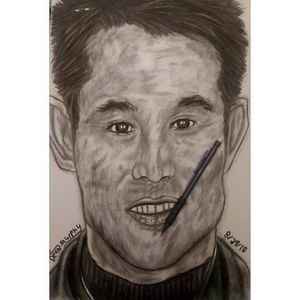 Drawing of Jet Li
