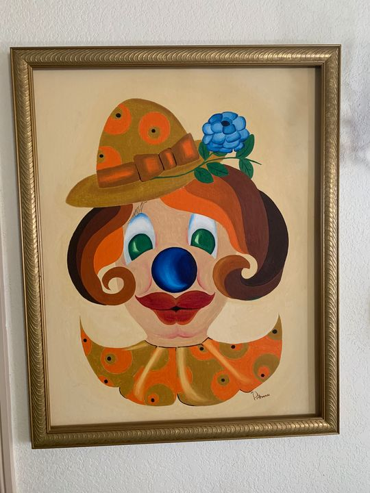 'Clown'Lari Pittman - Lari Pittman