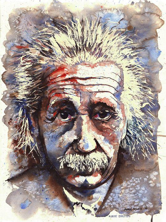 Albert Einstein - Morne Fourie