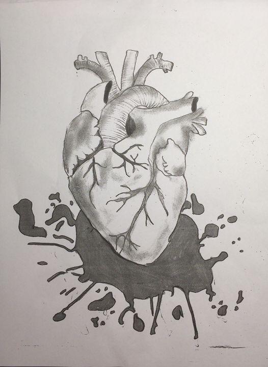 Stolen Heart (no color version) - John's Sketches