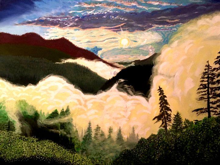 Good Morning, Blue Ridge - Robert Martin Frazier