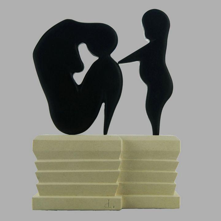 Douleur Maternelle - Berger Damien Sculptures