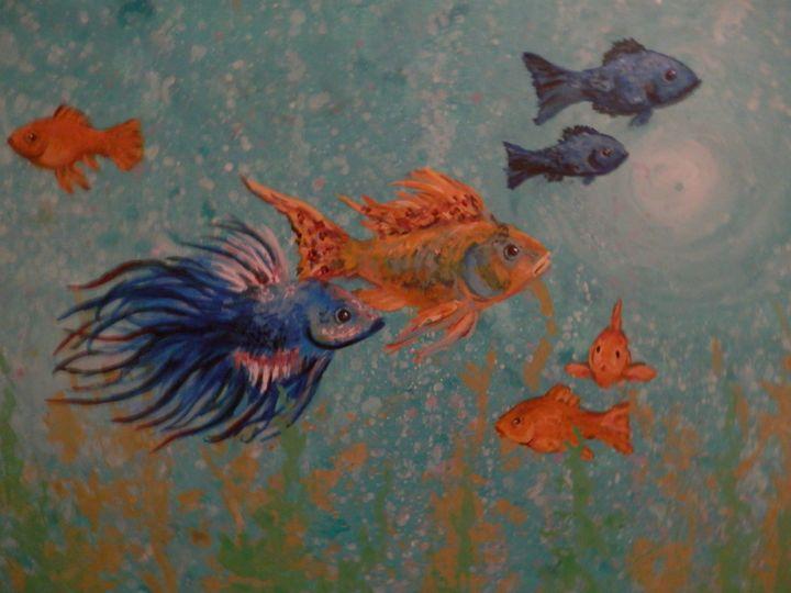 Aquatic Entourage - Jeffrey Miller