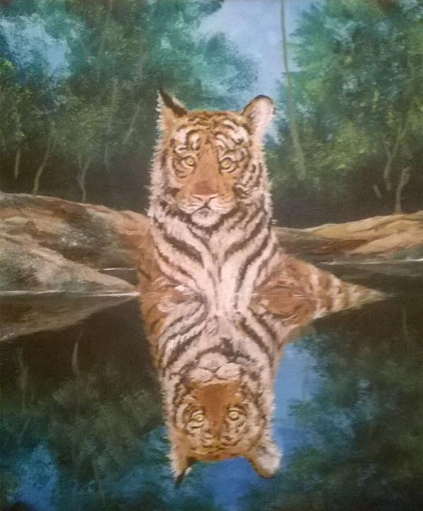 Tiger, tiger - Jeffrey Miller