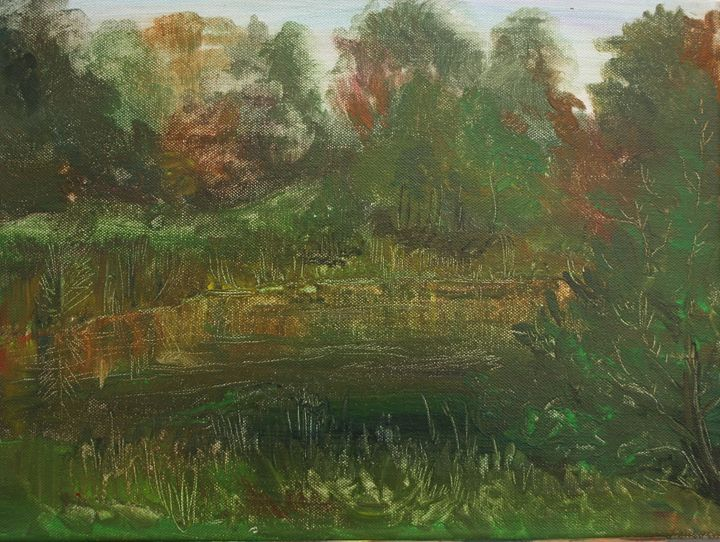 Mysteries Of The River Smolka - UkrAArt