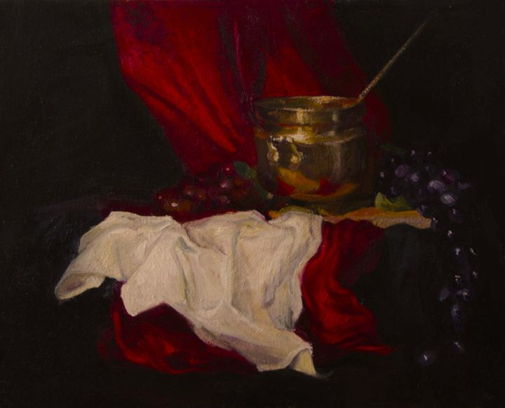 Grapes Still-Life - UkrAArt