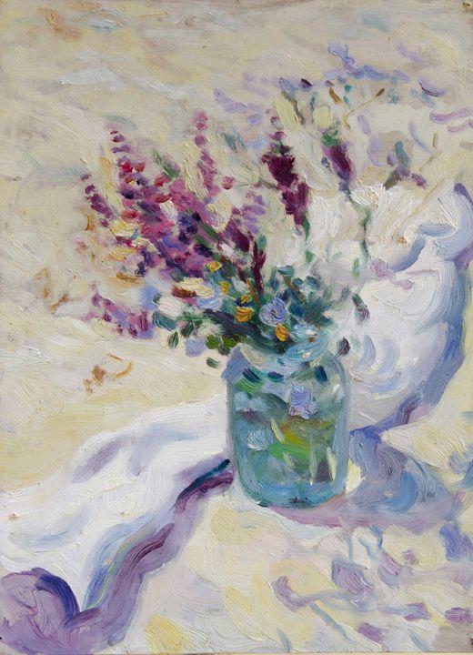Wild Flowers Schizzo - UkrAArt