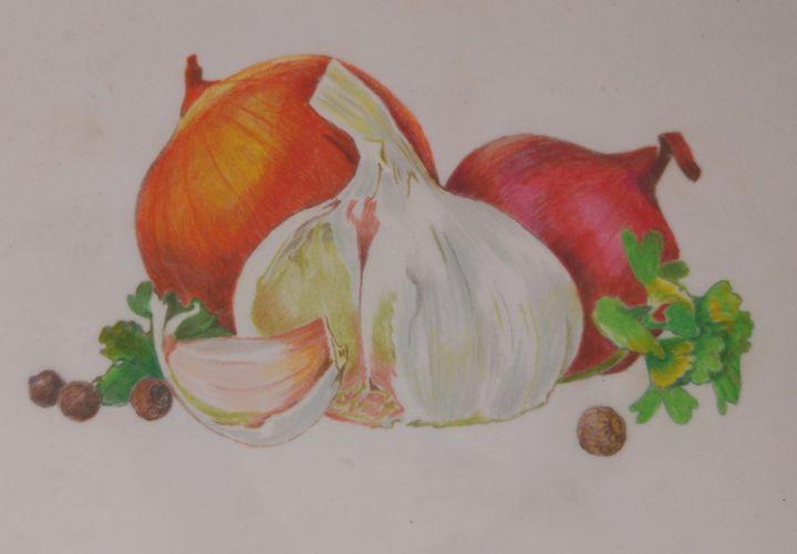 garlic - natalija's gallery