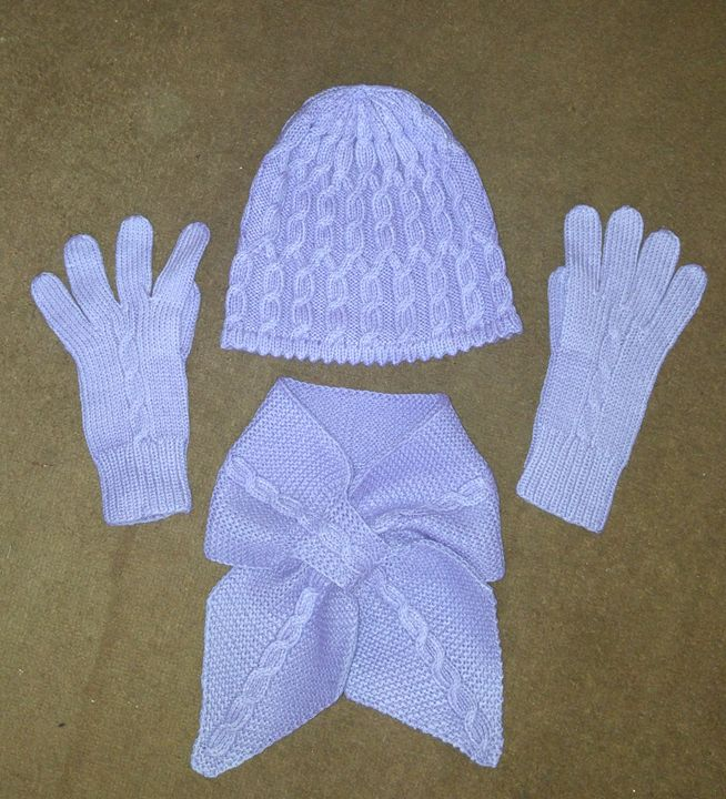 Hat, gloves and scarf - natalija's gallery