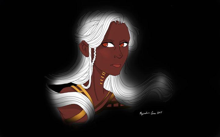 White Haired Woman Wise - Nejandrea Corea