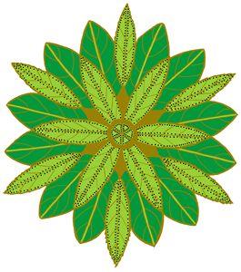 Green leaves - Ivos Art