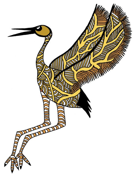 Stork 1 - Ivos Art