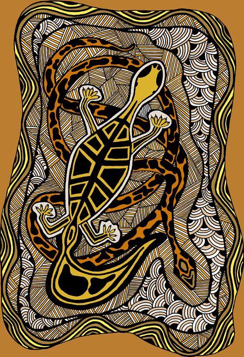 Reptile Dreaming - Ivos Art