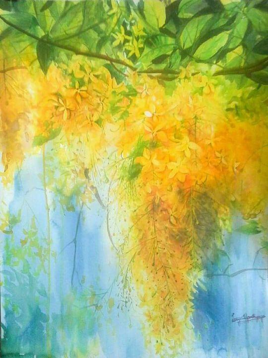 Golden shower - Lasya Upadhyaya A