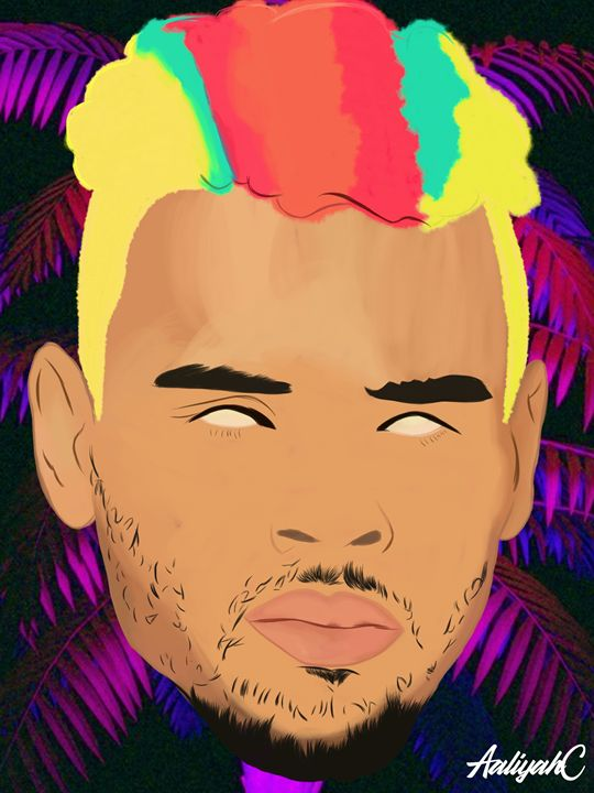 Chris Brown - Artwall