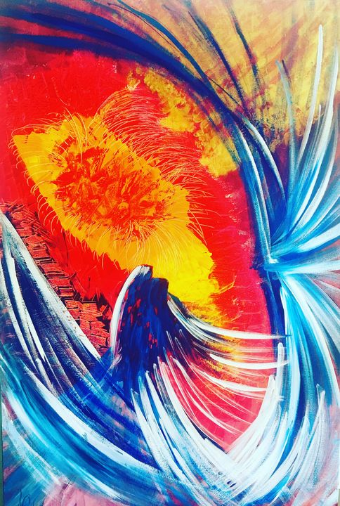 The rebirth - Cassandre Milard art