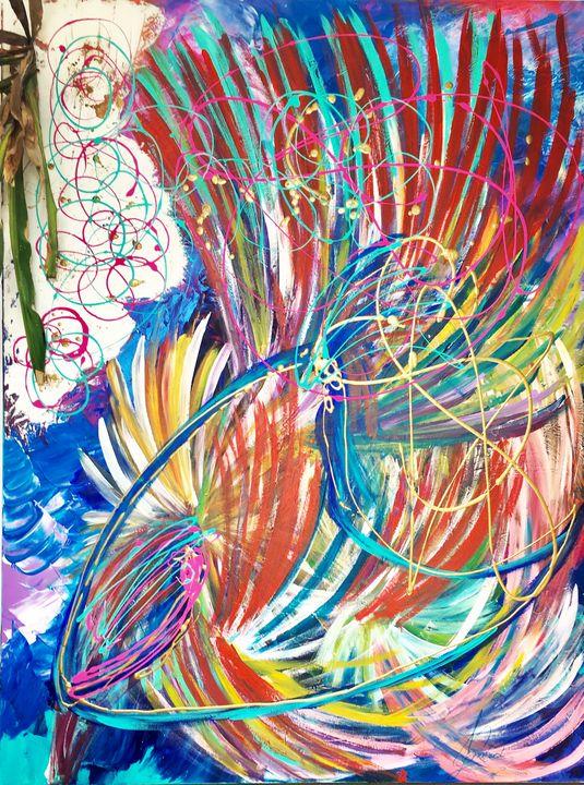 Intimacy in the jungle - Cassandre Milard art