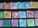 7cmX7cm Mini Lettered Canvas