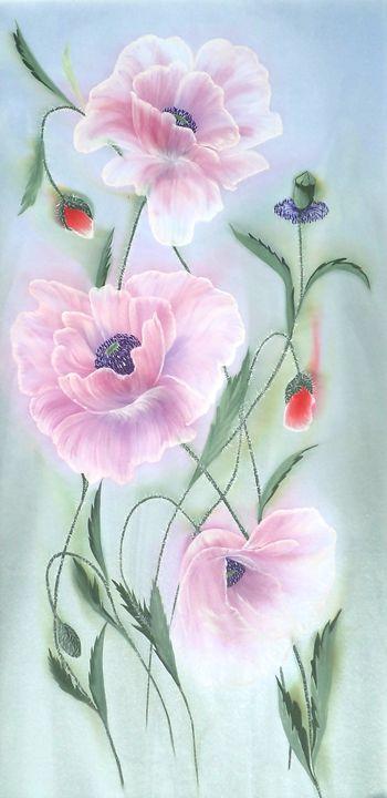 Ukrainian Poppies. - Angelina