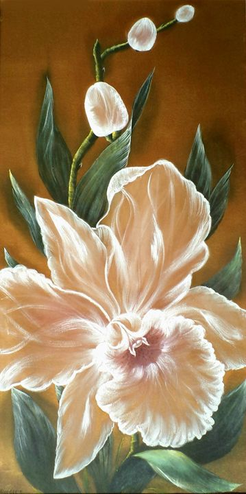 Whispering orchid. - Angelina