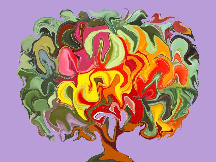 Autumn. Tree. - Angelina