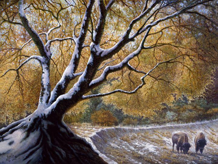 The First Snow Idaho - Gregory Perillo