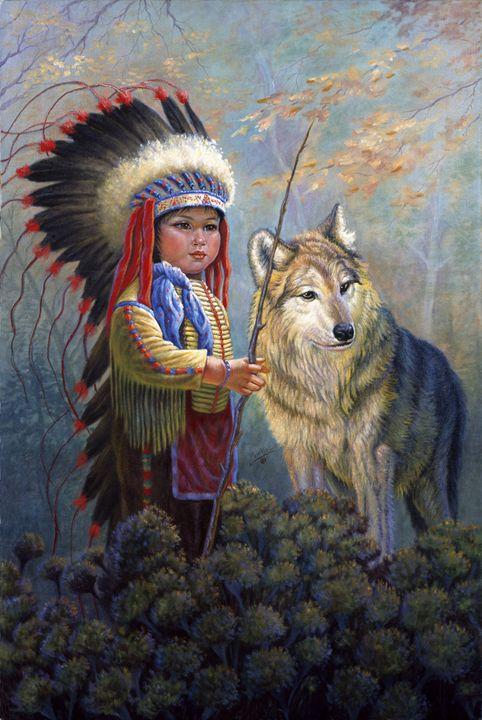 Wolf Boy - Gregory Perillo