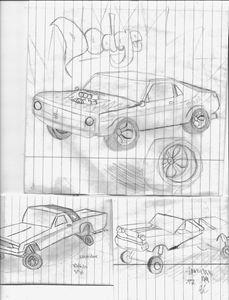 8th grade math class doodling