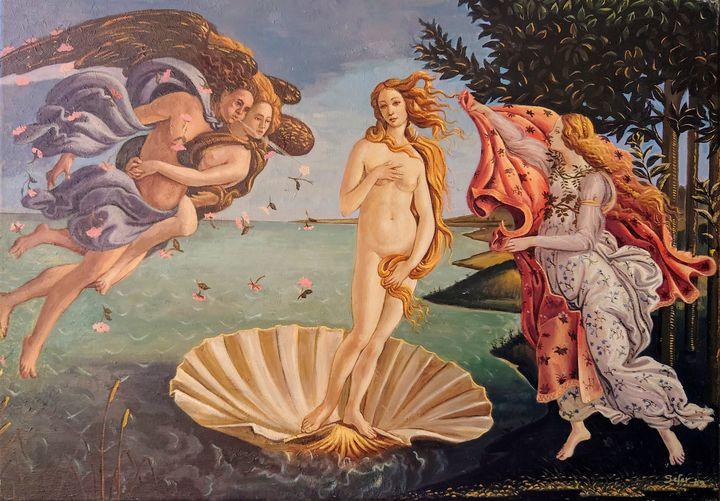 The birth of Venus - Corfu Paintings by Sefer