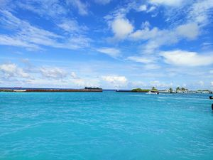 Beautiful shade of blue Water