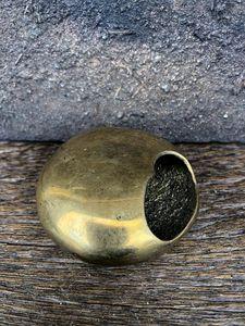 Moon-Shape Bronze Cigarette Ashtray