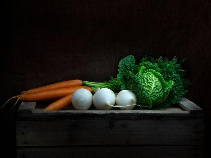 Winter vegetables - Judith Flacke Still Life