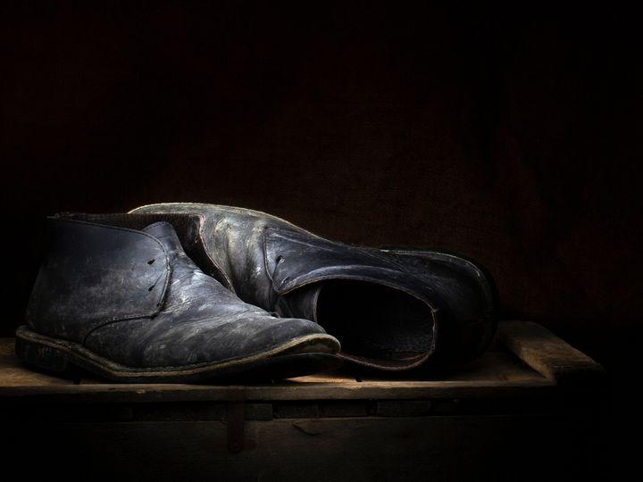 Old boots - Judith Flacke Still Life
