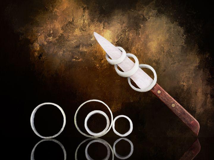 Onion rings - Judith Flacke Still Life