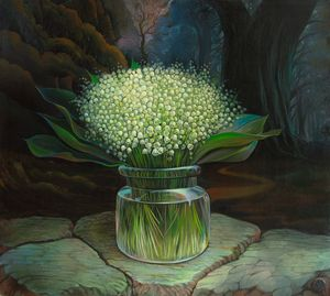 Lilies of the valley for Cinderella - Sergey Lesnikov art