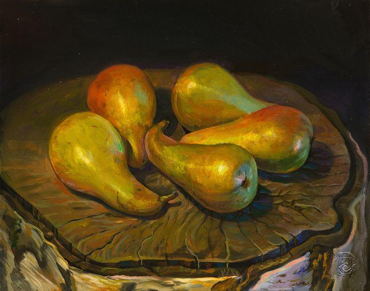 Pears - Sergey Lesnikov art