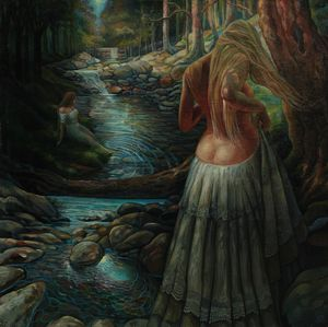 By the stream