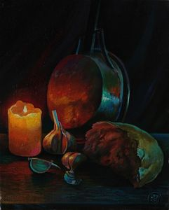 Simple things - Sergey Lesnikov art