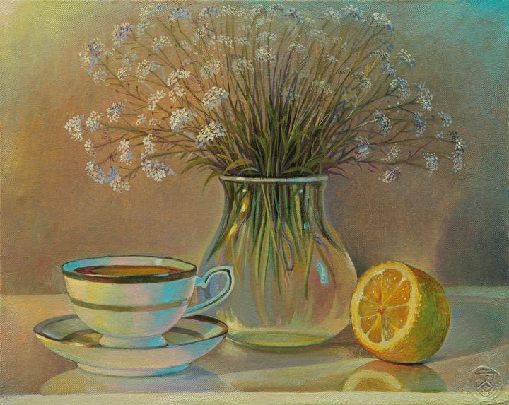 Light still life - Sergey Lesnikov art