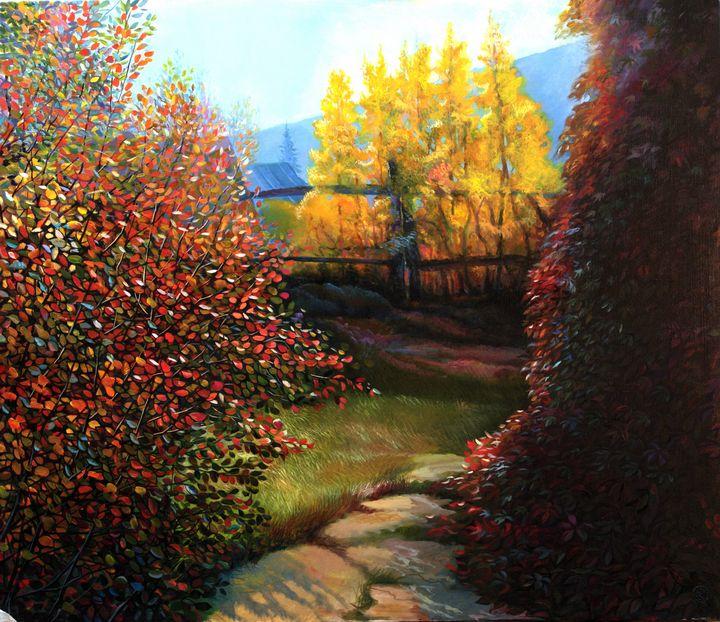 Autumn motive - Sergey Lesnikov art