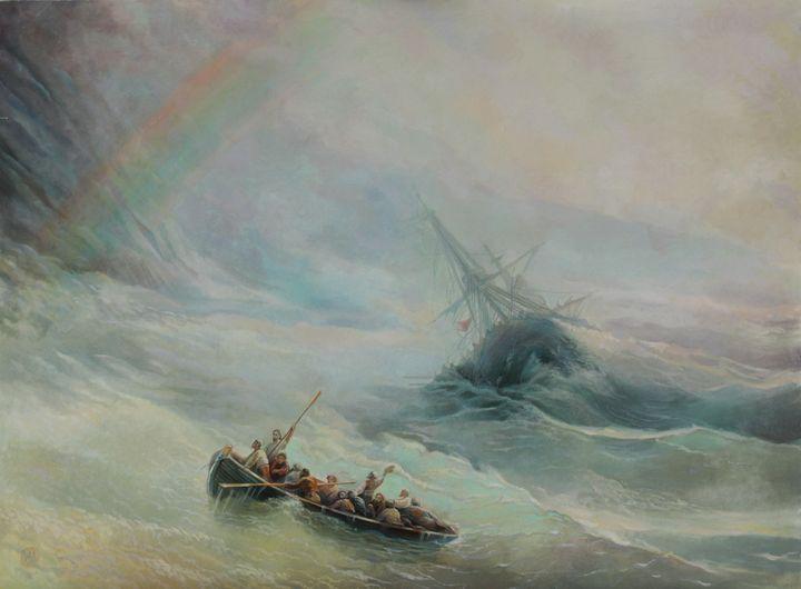"""Rainbow"", copy - Sergey Lesnikov art"