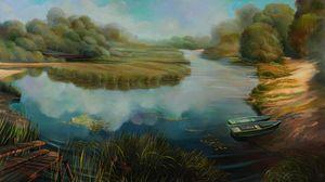 Riverside - Sergey Lesnikov art