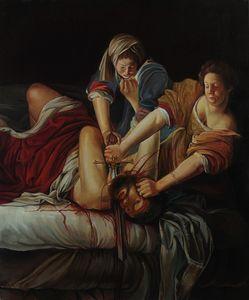 Judith Slaying Holofernes, copy. - Sergey Lesnikov art