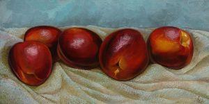 Nectarines - Sergey Lesnikov art