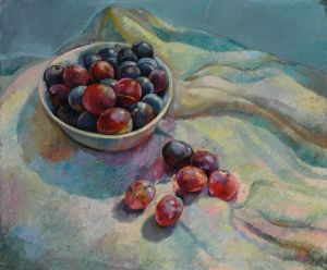 Sunny plums