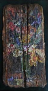 Flower still life - Sergey Lesnikov art